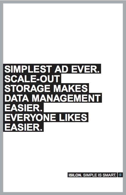 Isilon marketing strategy online banner campaign design - Bay Area branding agencies