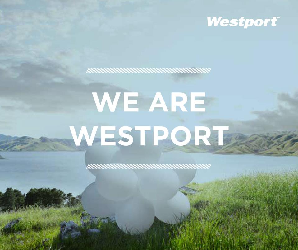 Westport Innovations brand strategy book - Mortar Branding Agency San Francisco