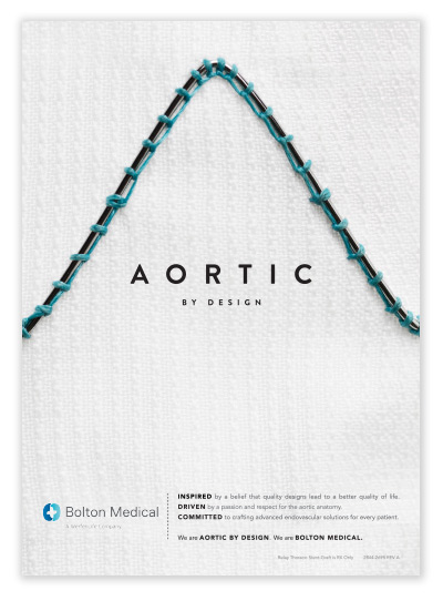 Bolton Medical brand strategy print ad - branding agencies in San Francisco