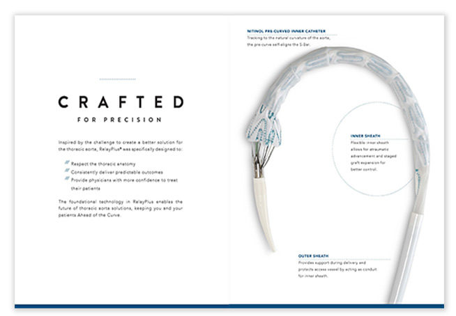 Bolton Medical RELAY product brochure design - San Francisco creative agencies