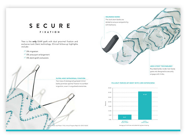 Bolton Medical TREO product brochure design - Bay Area advertising agencies