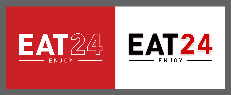 Eat24 identity logo design rebrand - San Francisco Mortar Branding Agency