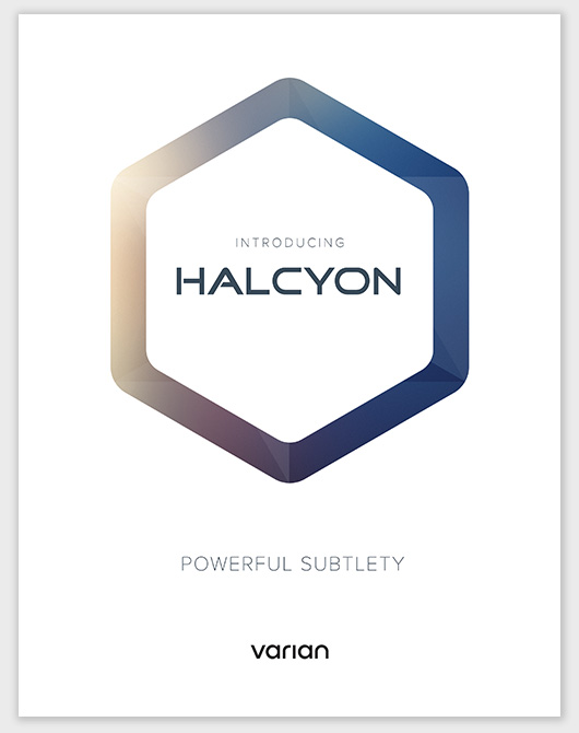 Introducing Halcyon poster collateral - Product launch marketing and branding Mortar Advertising Agency San Francisco