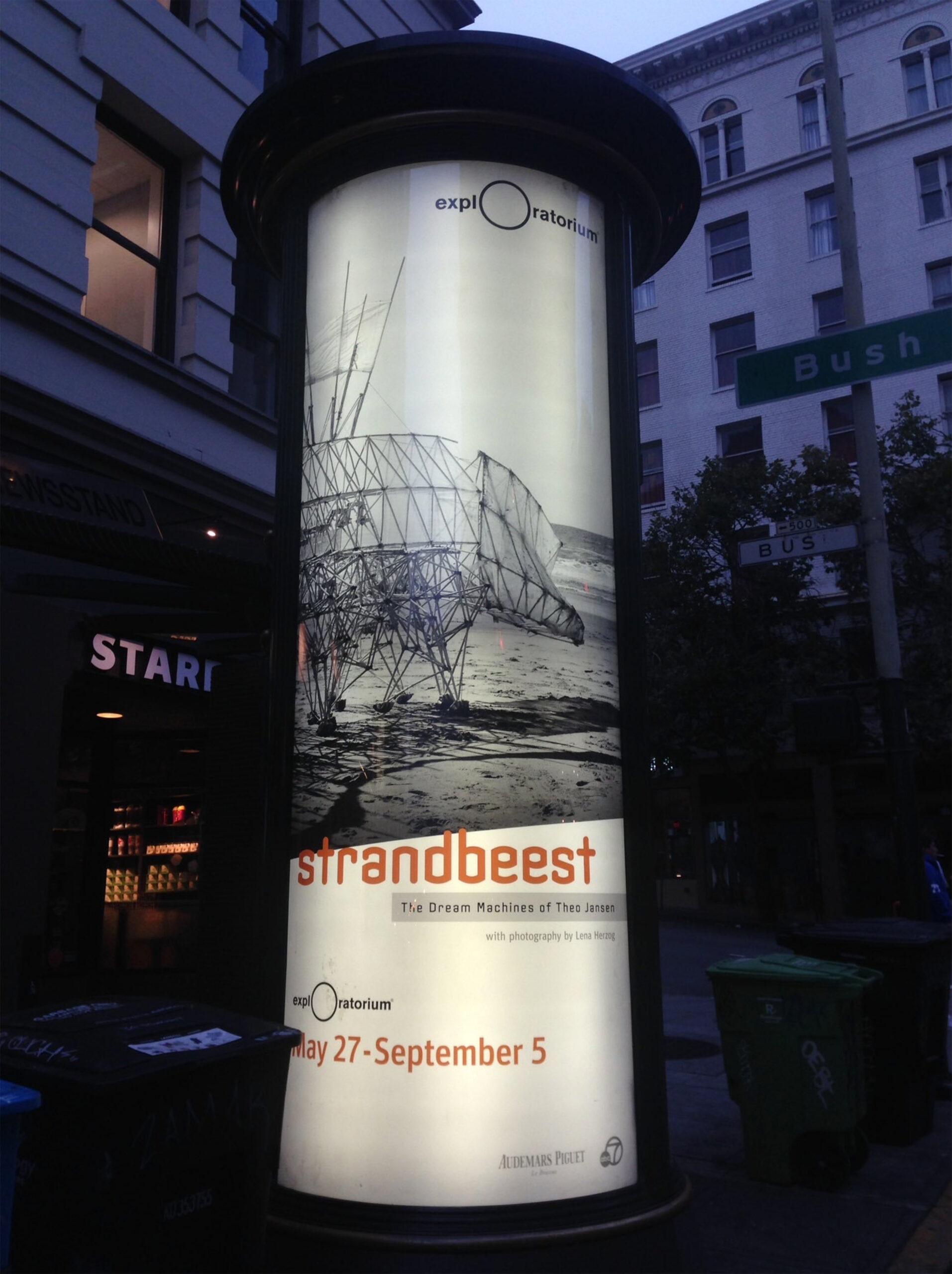Exploratorium Strandbeest OOH