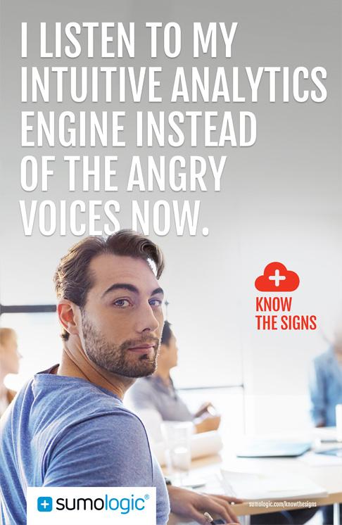Sumo Logic online banner awareness campaign - advertising agencies in San Francisco