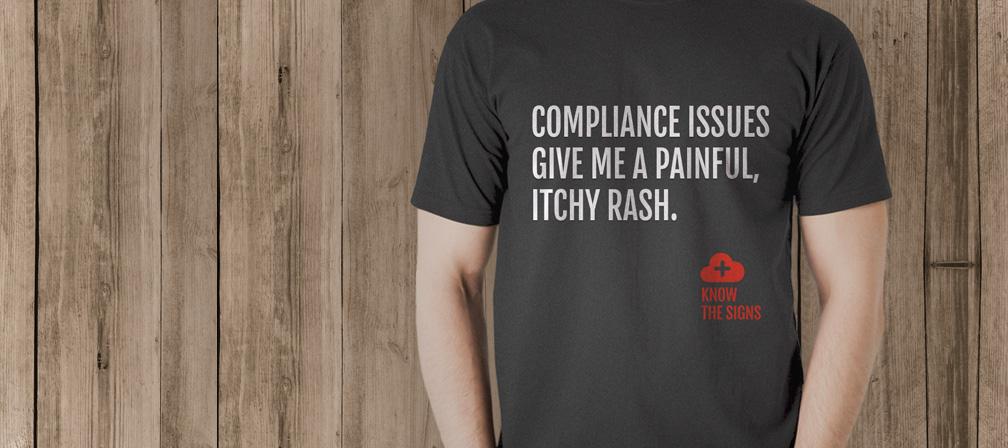 Sumo Logic t-shirt collateral awareness campaign - branding agencies in San Francisco