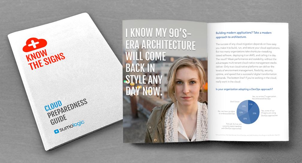 Sumo Logic Cloud Preparedness Guide awareness campaign - San Francisco advertising agencies